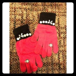 Other - Kids pink gloves